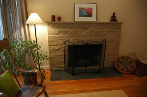Thin stone veneer Fireplace-03