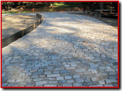 Philly Cobblestones Driveway