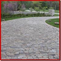 Philly cobblestone driveway