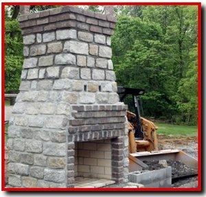 Thin Stone Veneer Fireplace